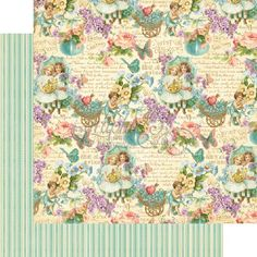 Graphic 45 - Sweet Sentiments Collection - 12 x 12 Double Sided Paper - All my Love at Scrapbook.com