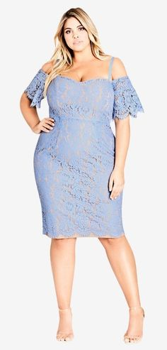 40 Plus Size Spring Wedding Guest Dresses {with Sleeves} - Plus Size Dresses - Plus Size Fashion for Women - alexawebb.com #alexawebb