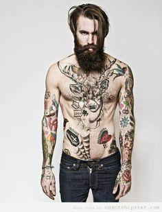 Tatouage hipster