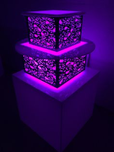 Custom LED Wedding Cake, Cupcake, Catering Displays made to your exact specifications. Changes all colors! Logo & Branding available. Handmade in Miami. Wow your guests. Order today www.GoodLifeDESIGNGROUP.com