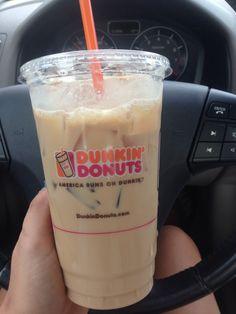 Coffee addict. Dunkin donuts iced coffee