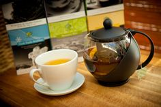Lovely handcrafted teas from Namasthé. #namasthe namasthe.ca