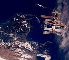 Mir Dreams /by NASA #space #station #mir #1996