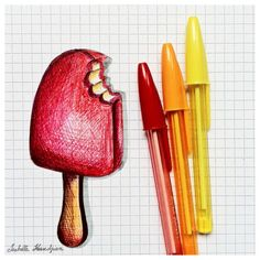 Bic color drawing. I LOVE IT!! ............................................................. #BIC