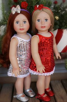 An American Girl Doll Christmas Store: HARMONY CLUB DOLLS, An American Girl Doll Christmas Store