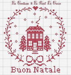 La Comtesse & Le Point De Croix: Un casetta tutta rossa...