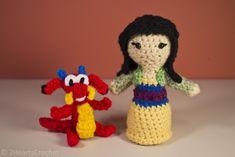 Mulan and Mushu Crochet Pattern Free