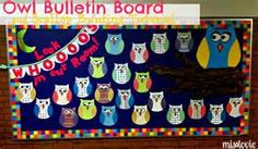 """Image detail for -This is my """"back to school"""" bulletin board. My sister Paula came ..."""