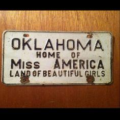 Oklahoma :)