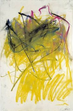 Untitled, 1979, Joan Mitchell, pastel on paper, 22.87 x 15.25 in., USA/France