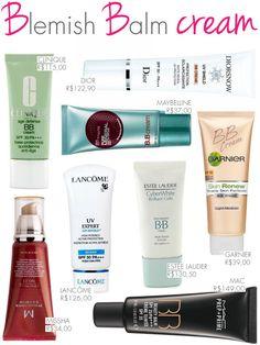 BB cream, cosméticos, cremes com filtro solar, marcas, preço, onde comprar, MAC, Garnier, Clinique, Maybelline, Beauty Balm, sites