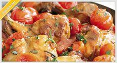 La ricetta del coniglio all'ischitana, piatto tipico dell'isola d'Ischia che ne richiama le tradizioni ed ideale soprattutto per i periodi estivi.