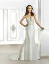 Cosmobella Sexy Elegante Brautkleider aus Taft - Style 7694