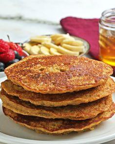Banana Cornbread Pancakes Recipe by Tasty