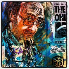 Check out some great street art from street artists & urban artists all over the world Street Art Banksy, Murals Street Art, Best Street Art, Amazing Street Art, Urban Graffiti, Graffiti Artwork, Grafiti, Portrait Art, Portraits