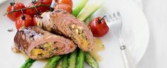 Beef Olives with Lemon Asparagus | In Season: Spring | MiNDFOOD