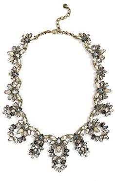 Women's Baublebar Naira Crystal Collar Necklace