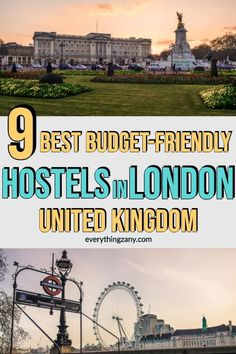 9 Best Budget Friendly Hostels in London, UK Europe Travel Guide, Travel Guides, Budget Travel, Travel Destinations, Travel Tips, London With Kids, London Hotels, Best Budget, Ireland Travel