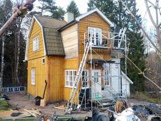 bygga tillbyggnad brutet tak - Google Search