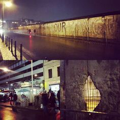 Day 15. One of my bucket list items was to see the Berlin Wall in the flesh. A wall put up to divide. There is evidence of it though out Berlin even though almost all of it has been removed. The section in the top section of this image is a fairly major piece of the original wall that still stands. It seems as though the local grafity artists haven't touched it at all. Perhaps as a sign of respect. It was quite something reading some of the messages left by people on either side. We…