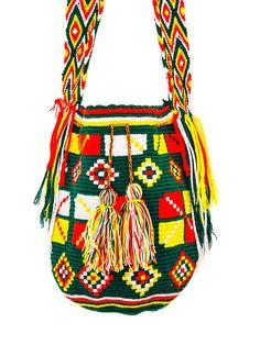 Bolso Billeteras Tejido Mochilas Bolsas Crochet Wayuu Bolsos 0 AIqY46