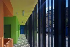 Edificio de vestuarios y pistas deportivas en el parque María Zambrano | Vélez-Málaga | GANA Arquitectura