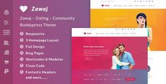 Zawaj is a beautifully crafted WordPress & BuddyPress theme for people who want to build an online community. This theme is designed to cater dating websites and landing pages. You can also Zawaj to create beautiful social networking websites or even corporate website with only few changes. Zawaj not only helps you build social networking sites on top of WordPress, but also helps you save a ton of money. Instead of hiring designers and developers to do the BuddyPress Theme, Zawaj do it for…