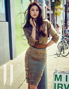 Actress Kim Soo Hyun (Claudia Kim) is Featured in W Korea | Koogle TV