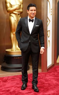 Mario Lopez from 2014 Oscars Red Carpet Arrivals | E! Online