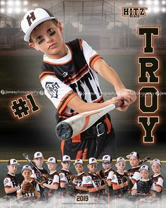 Troy HITZ 10u 2019 Door Sign and Memory Mate Template Sports Team Photography, Baseball Photography, Photography Business, Baseball Team Pictures, Softball Senior Pictures, Team Picture Poses, Picture Ideas, Photo Ideas, Volleyball Photos