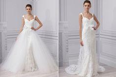 Una de mis obsesiones son los vestidos de novia dos en uno ¡Me encantan! Para…