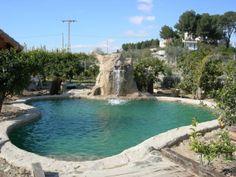 Piscina privada en Ceuti (Murcia), realizada por Sol y Agua 2M. Vea mas en www.solyagua2m.com