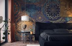 Artistic Bedroom on Behance