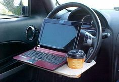 Office In the Car? - Funny traffic #landmarkautoinc