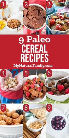 Paleo Cereal Recipes for a quick make-ahead Paleo breakfast