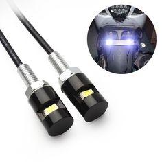 2 개 액세서리 나사 볼트 빛 12 볼트 SMD 5630 스타일링 번호판 램프 자동차 자동차 오토바이 화이트 LED 테일 번호 # iCarmo