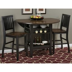 Shop Jofran Braden 3-Piece Counter Height Dining Set at ATG Stores. Browse our  sc 1 st  Pinterest & I am going to try and make this... love it and i need a table to go ...
