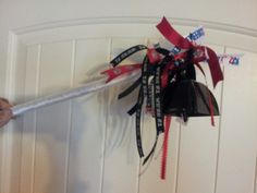 Sport stick noise makers, great for game day.
