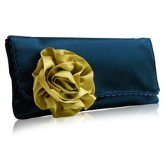 Items similar to Navy and lime satin Georgia clutch bag on Etsy Other Accessories, Handbag Accessories, Bridal Handbags, Satin Flowers, Green Satin, Little Bag, Patent Leather Pumps, Clutch Bag, Clutch Handbags