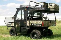 utv quail hunting high seat - Google Search