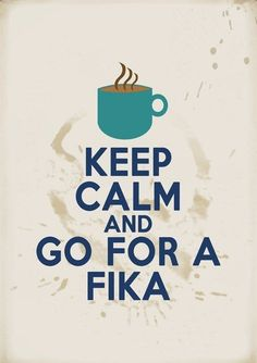 "Missing Sweden! Fika (Swedish pronunciation: [ˈfiːˌka]) is a concept in Swedish culture with the basic meaning ""to have coffee"", often accompanied with pastries. Umea, Voyage Suede, Swedish Traditions, About Sweden, Haus Am See, Sweden Travel, Italy Travel, Coffee Break, Drink Coffee"