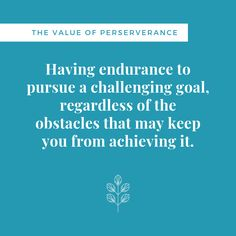 The many challenges and obstacles we face may tempt us to give up on our goals. However, those who become successful and reach their goals have found a way to face and overcome these challenges. They had perseverance. Keep moving towards your goals. Reaching Goals, Life Skills, The Life, Challenges, Success, Student, Education, Face, Quotes