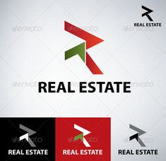 Real Estate - Letters Logo Templates