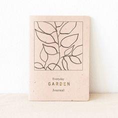 NEW! Everyday Garden Journal