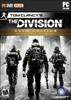 Tom Clancy& The Division (Gold Edition) - Xbox One: UbiSoft: Video Games Tom Clancy The Division, The Division Ps4, Playstation, Xbox 360, Cheap Video Games, Video Games Xbox, Xbox One Games, Pc Games, Nintendo Ds