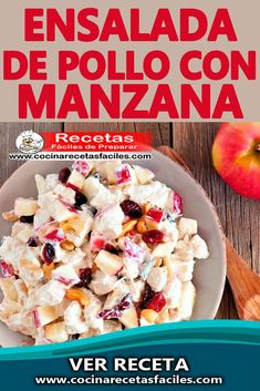 Mexican Food Recipes, Healthy Recipes, Kitchen Kit, Apple Salad, Tasty, Yummy Food, Deli, Cake Recipes, Oatmeal