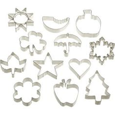 A Year of Cookie Cutters in Baking Utensils | Crate and Barrel