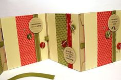 envelope mini scrapbook- good directions; several other examples; all cute!