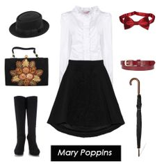 Halloween How-To: Mary Poppins, I want to do this next year so bad!! Bobby would make a very handsome chimney sweep as well :)