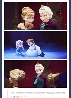 Frozen~Elsa. :)